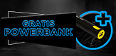 Gratis Powerbank
