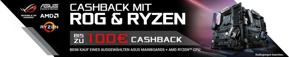 ASUS Cashback mit ROG & RYZEN™
