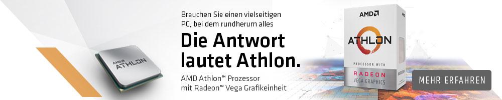 AMD ATHLON™ mit RADEON™ Vega Grafikeinheit