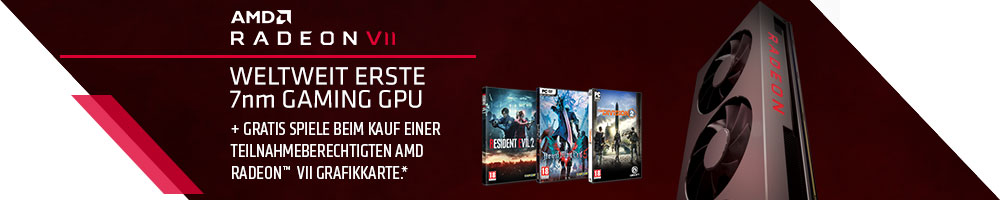 AMD RADEON™ VII Gamebundle