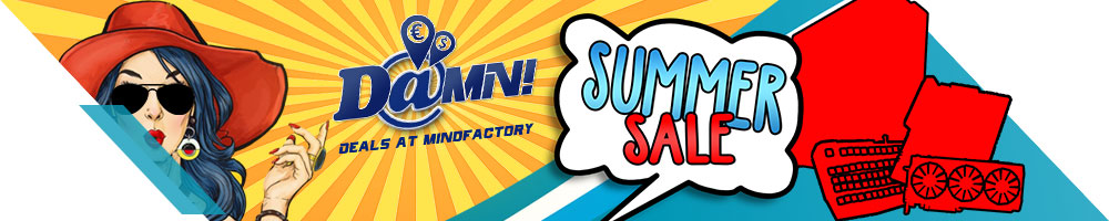 Summer Sale by Mindfactory