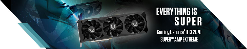ZOTAC GeForce™ RTX 2070 GAMING AMP Extreme