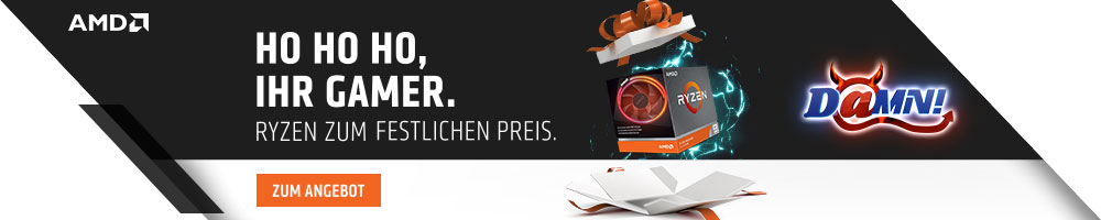 DAMN! RYZEN DEALS mit AMD by Mindfactory