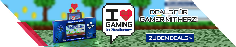 I Love Gaming by Mindfactory