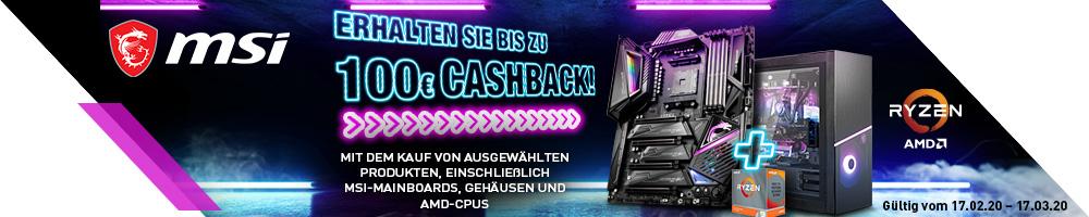 MSI Cashback 2020