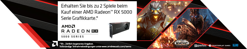 AMD Radeon™ Game Bundle - Raise the Game
