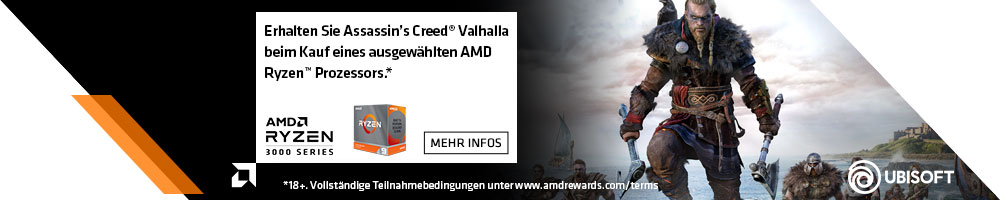 AMD Ryzen Game Bundle Assassins Creed Valhalla