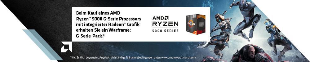 AMD Ryzen™ 5000G Game Bundle mit WARFRAME