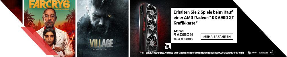 RAISE THE GAME BUNDLE MIT AMD RX 6900 XT