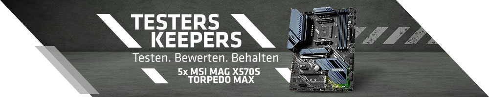 TESTERS KEEPERS mit MSI