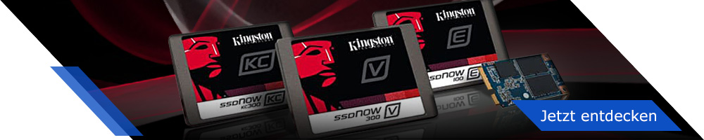 Kingston - Rasante SSDs