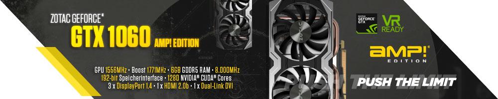 """ZOTAC GeForce® GTX"""" 1060"""