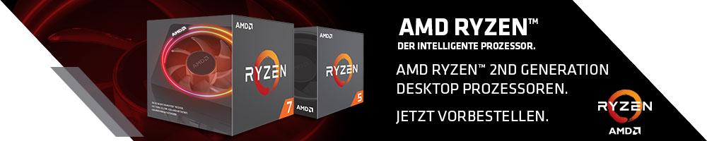 AMD Ryzen™ der intelligente Prozessor.