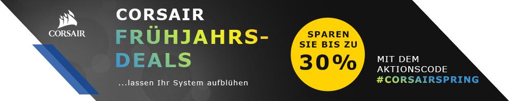 CORSAIR Frühjahrs-Deals