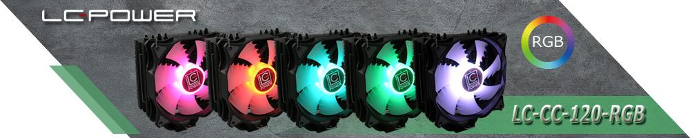 LC-Power LC-CC-120-RGB CPU-Kühler
