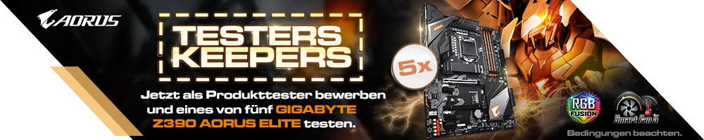 GIGABYTE Z390 AORUS ELITE Testers Keepers