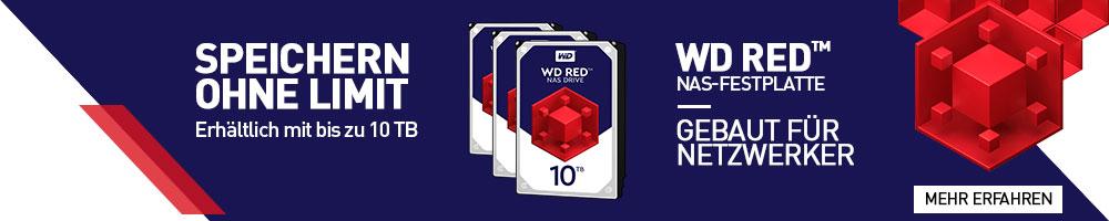 WD Red NAS-Festplatten