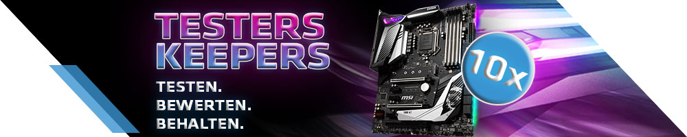 MSI MPG Z390 GAMING PRO CARBON Testers Keepers