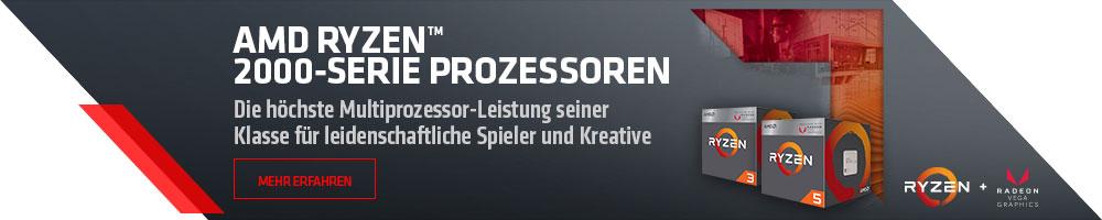 AMD RYZEN™ 2000-SERIE PROZESSOREN