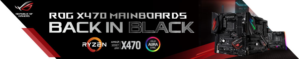 ASUS ROG X470 MAINBOARDS