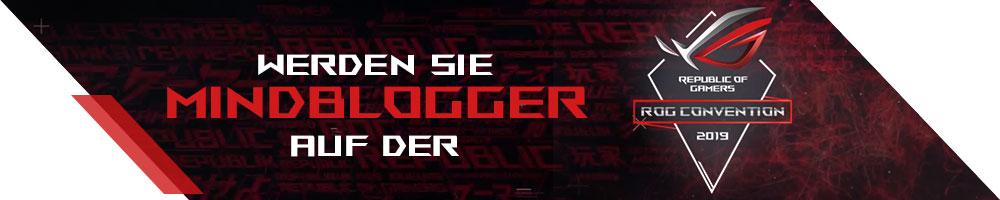 MindBlogger auf der ROG-Convention werden.