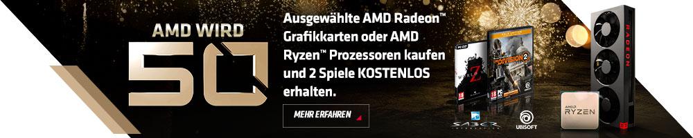 AMD 50 Jahre Gamebundle