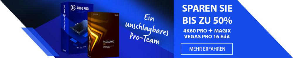 ELGATO 4K60 PRO und MAGIX VEGAS PRO 16 Edit