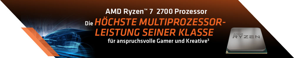 AMD Ryzen™ 2700 Prozessor