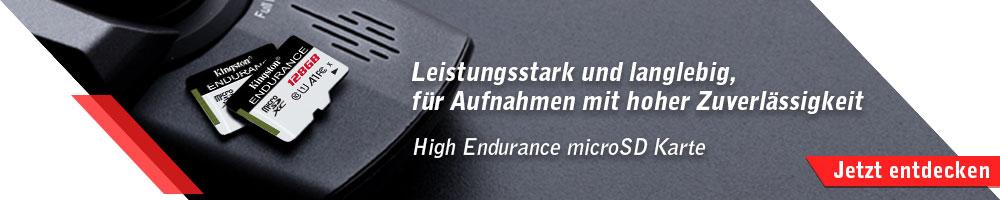 Kingston High Endurance microSD Karte