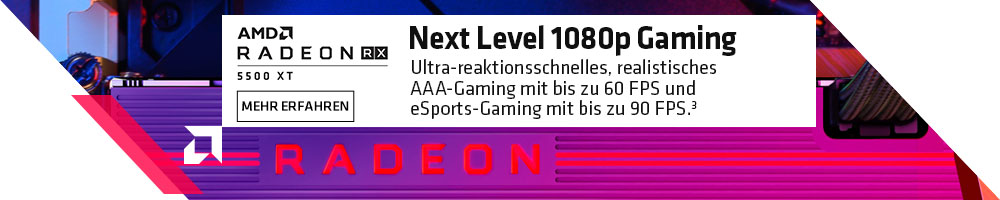 AMD Radeon RX 5500 XT Grafikkarten