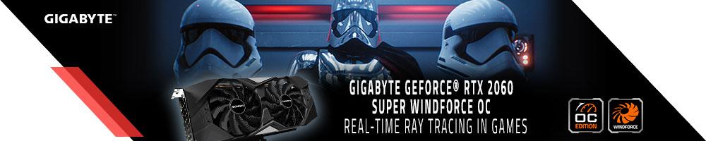 GIGABYTE GeForce® RTX 2060 SUPER WindForce OC