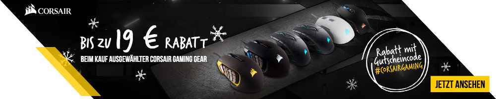 CORSAIR GAMING GEAR WINTERRABATT