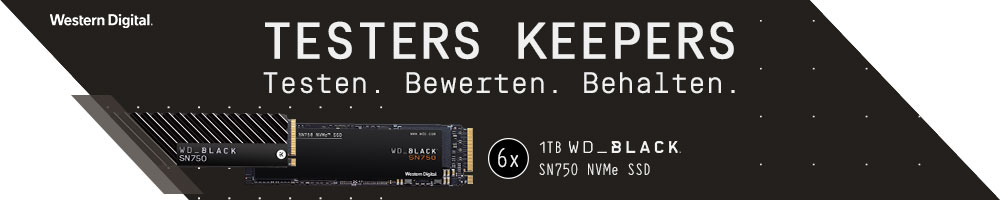 Testers Keepers: WD Black SN750 NVMe 1TB
