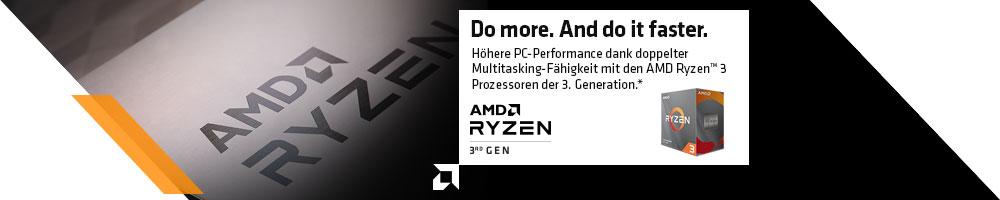 AMD Ryzen™ 3 3300X and 3100 Desktop Processor