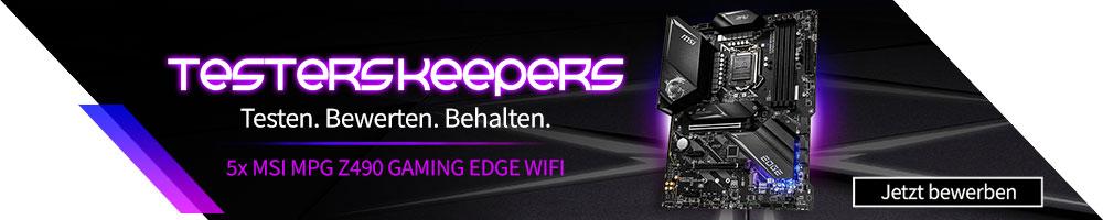 Testers Keepers - MSI MPG Z490 GAMING EDGE WIFI