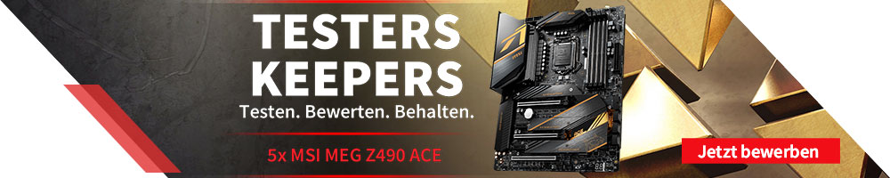 Testers Keepers: MSI MEG Z490 ACE