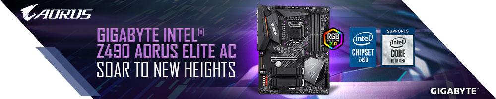 GIGABYTE Intel® Z490 AORUS ELITE AC