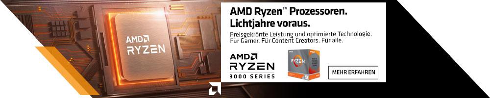AMD Ryzen™ 3000 XT-Serie