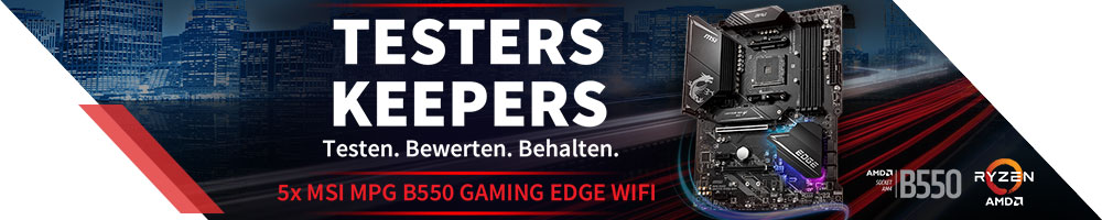 Testers Keepers MSI MPG B550 GAMING EDGE WIFI