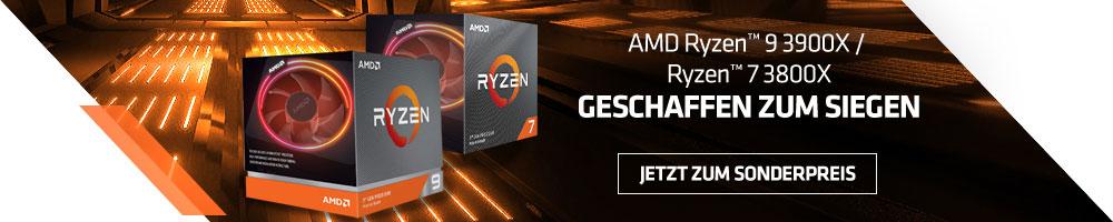 AMD Ryzen™ 9 3900X / Ryzen™ 7 3800X