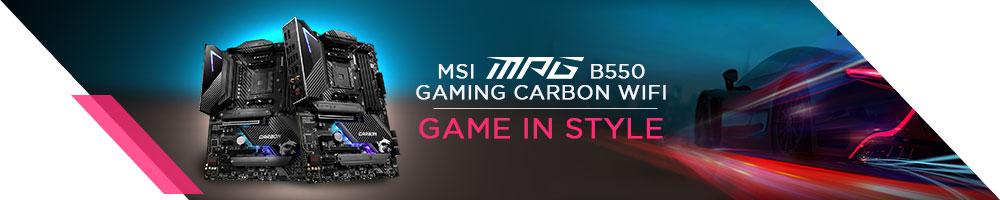 MSI MPG B550 GAMING CARBON WIFI