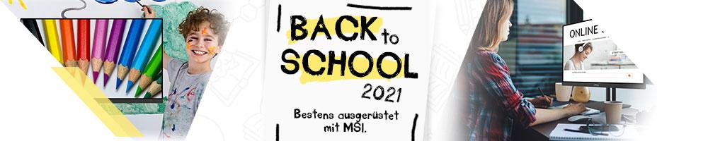 MSI Back to School 2021