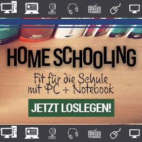 HOMESCHOOLING: Fit für die Schulte mit PC + Notebook