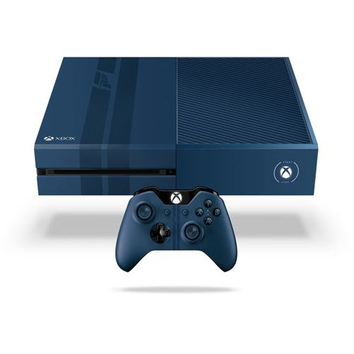 microsoft xbox one ohne kinect konsole 1tb hdd wifi bluetooth forza 6 blau. Black Bedroom Furniture Sets. Home Design Ideas