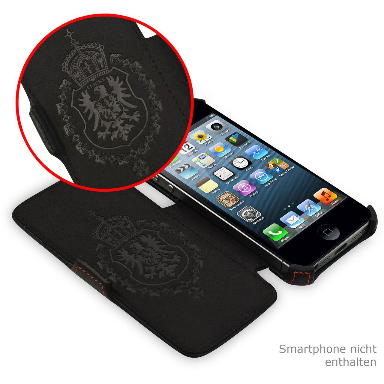 manna apple iphone 5 h lle iphone 5s case leder. Black Bedroom Furniture Sets. Home Design Ideas