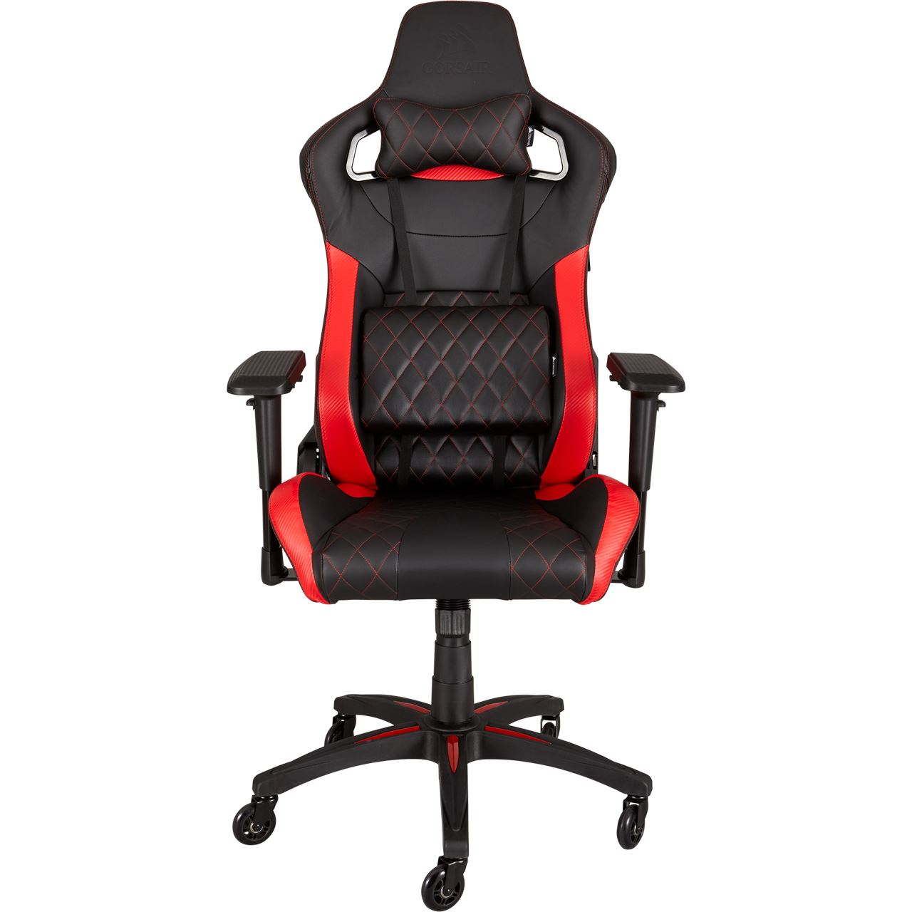 corsair t1 race gaming chair schwarz rot gaming seats. Black Bedroom Furniture Sets. Home Design Ideas