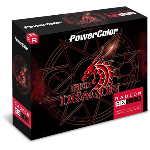 powercolor rx 560 red dragon 2gb майнинг