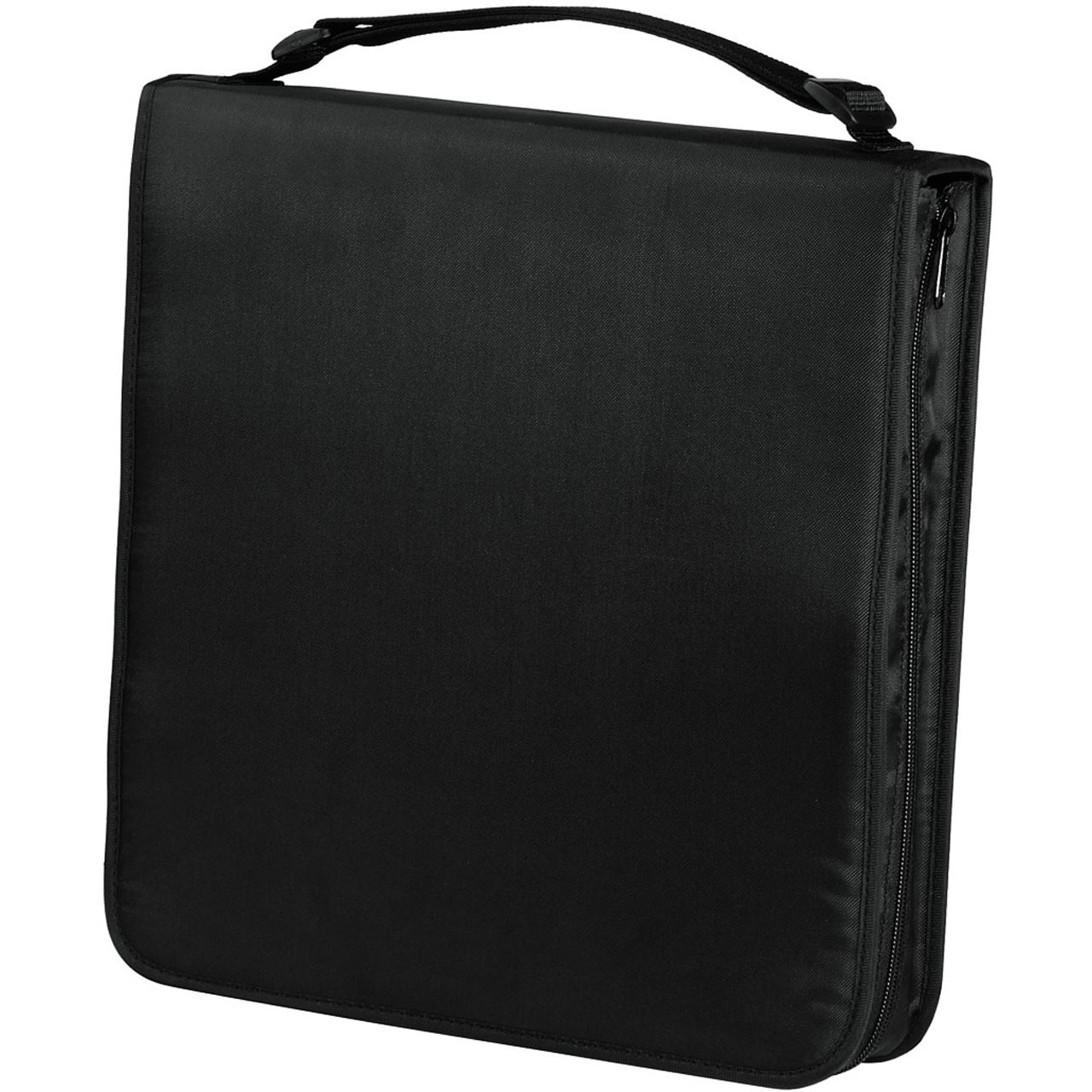 hama cd dvd blu ray tasche 160 schwarz tasche f r aufbewahrung 00033834. Black Bedroom Furniture Sets. Home Design Ideas