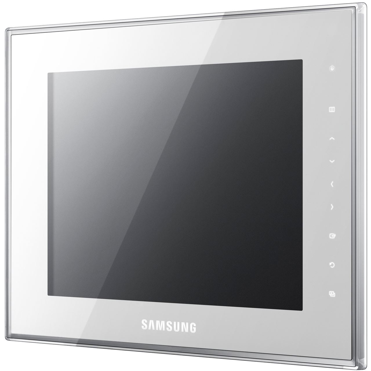 8 0 20 32cm samsung digitaler fotorahmen spf 800w 800x600 1024mb wei. Black Bedroom Furniture Sets. Home Design Ideas