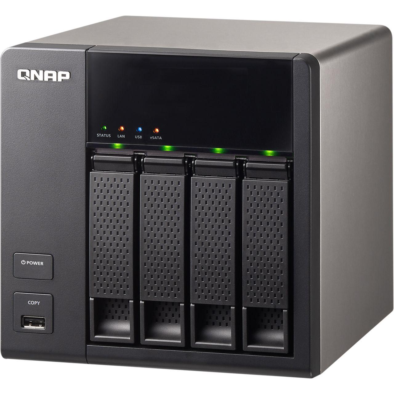 qnap turbostation ts 412 ohne festplatten ohne festplatte hardware notebooks. Black Bedroom Furniture Sets. Home Design Ideas